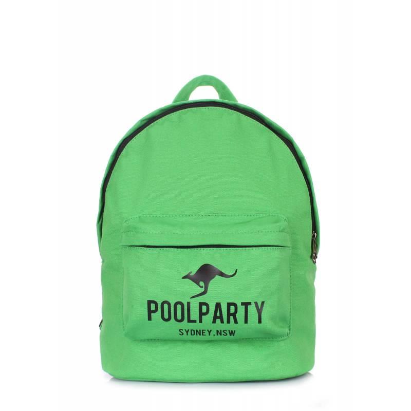 Молодежный рюкзак Poolparty Kangaroo Green