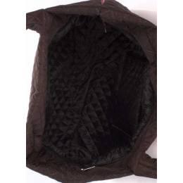 Женская стеганая сумка PP1 Eco Brown