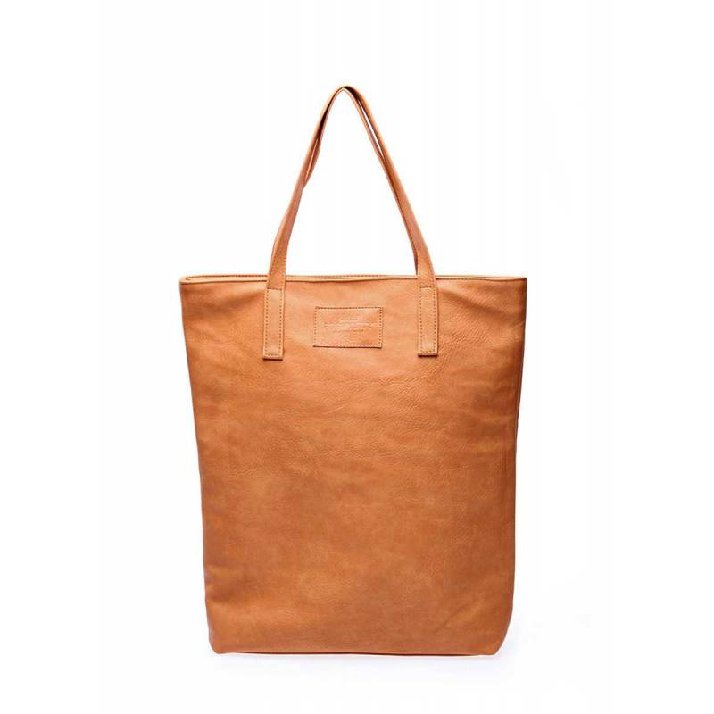 Женская кожзам сумка на плече TULIP beige
