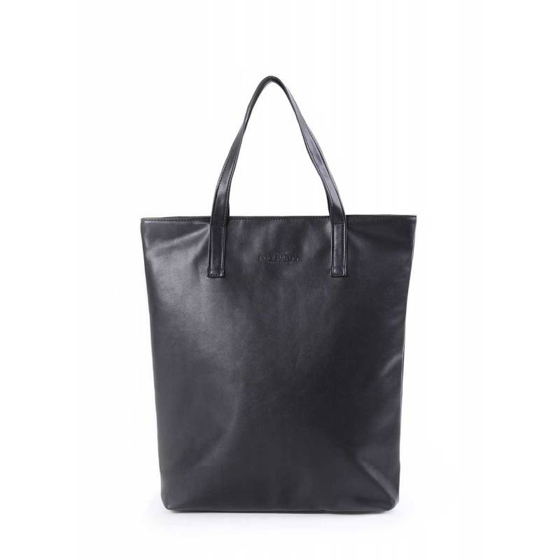 Женская кожзам сумка на плече TULIP black