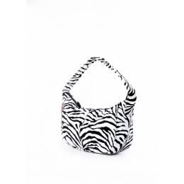 Женская сумка из искусственной кожи PURSE принт зебра