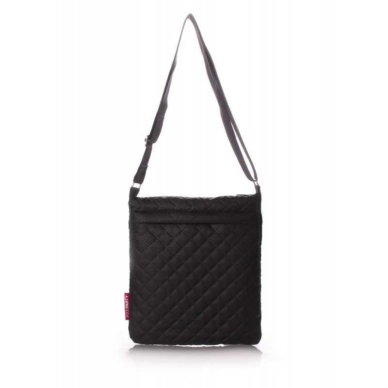 Стеганая сумка-планшет Pool59 Eco Black