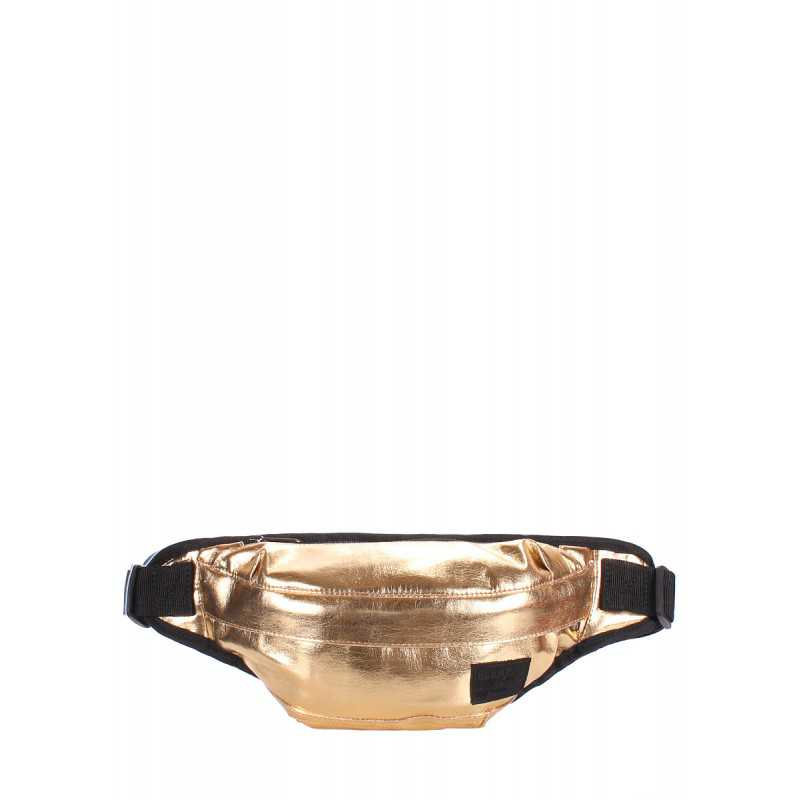 Cумка на пояс из кожзама Bumbag Gold