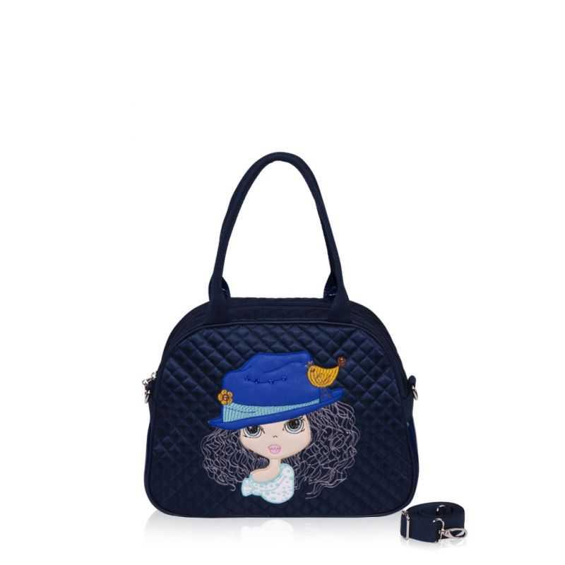 Детская сумка-саквояж Alba Soboni 0323 blue