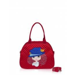 Детская сумка-саквояж Alba Soboni 0323 red