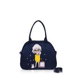 Детская сумка-саквояж Alba Soboni 0324 blue