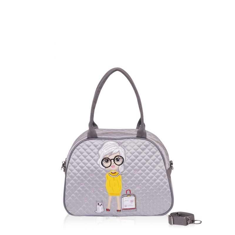 Детская сумка-саквояж Alba Soboni 0324 grey