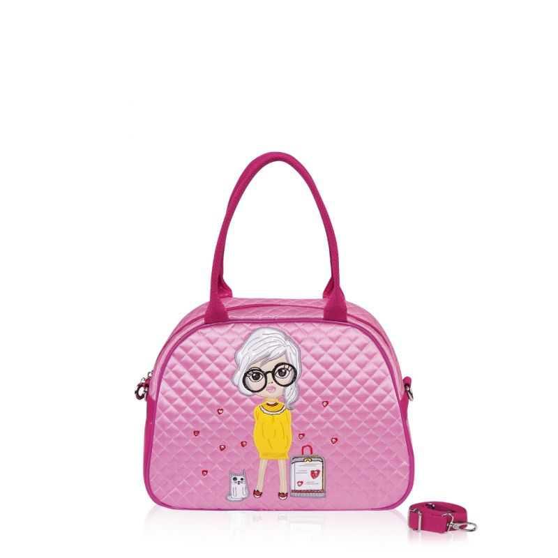 Детская сумка-саквояж Alba Soboni 0324 pink
