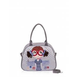 Детская сумка-саквояж Alba Soboni 0325 grey