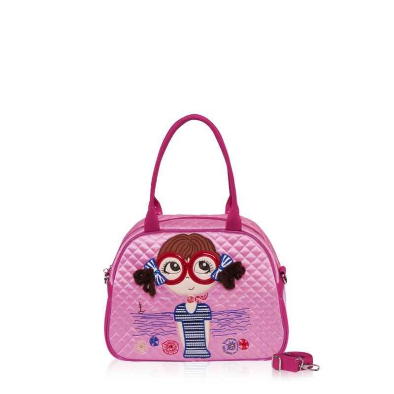 Детская сумка-саквояж Alba Soboni 0325 pink