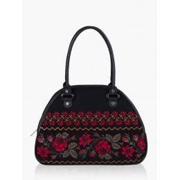 Женская сумка-саквояж Alba Soboni 152303 black