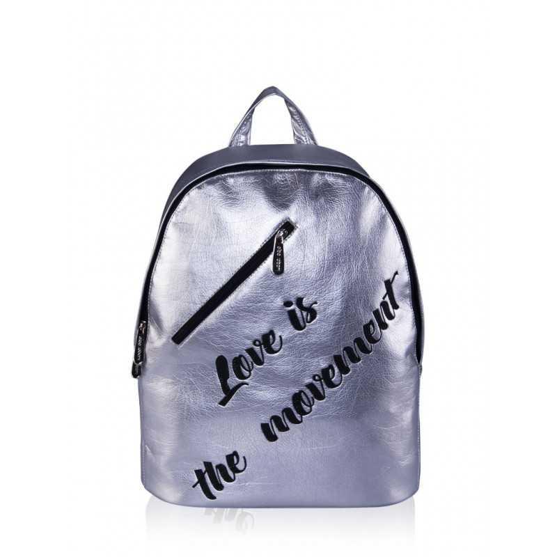 Молодежный рюкзак Alba Soboni 161233 silver