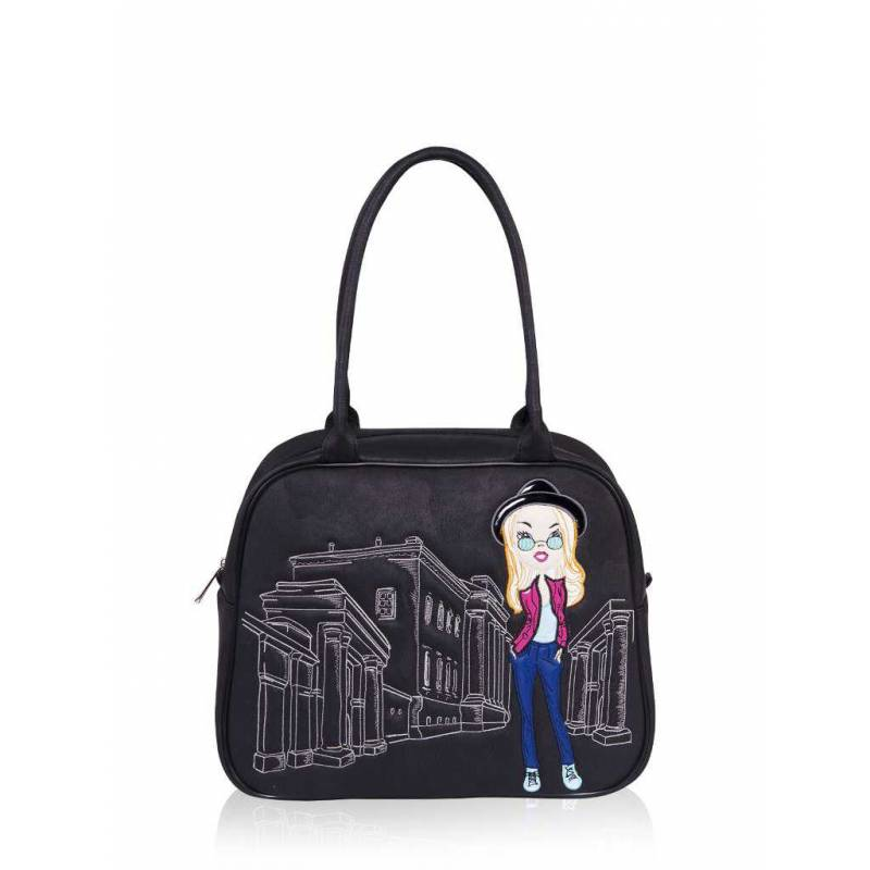 Школьная сумка Alba Soboni 161242 black
