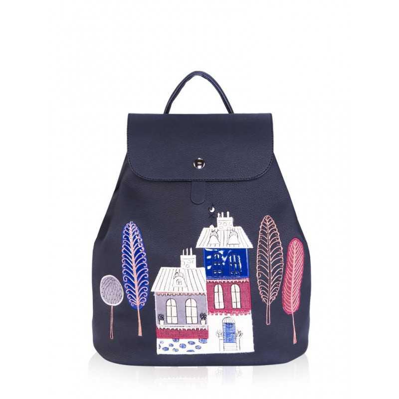 Молодежный рюкзак Alba Soboni 161312 black