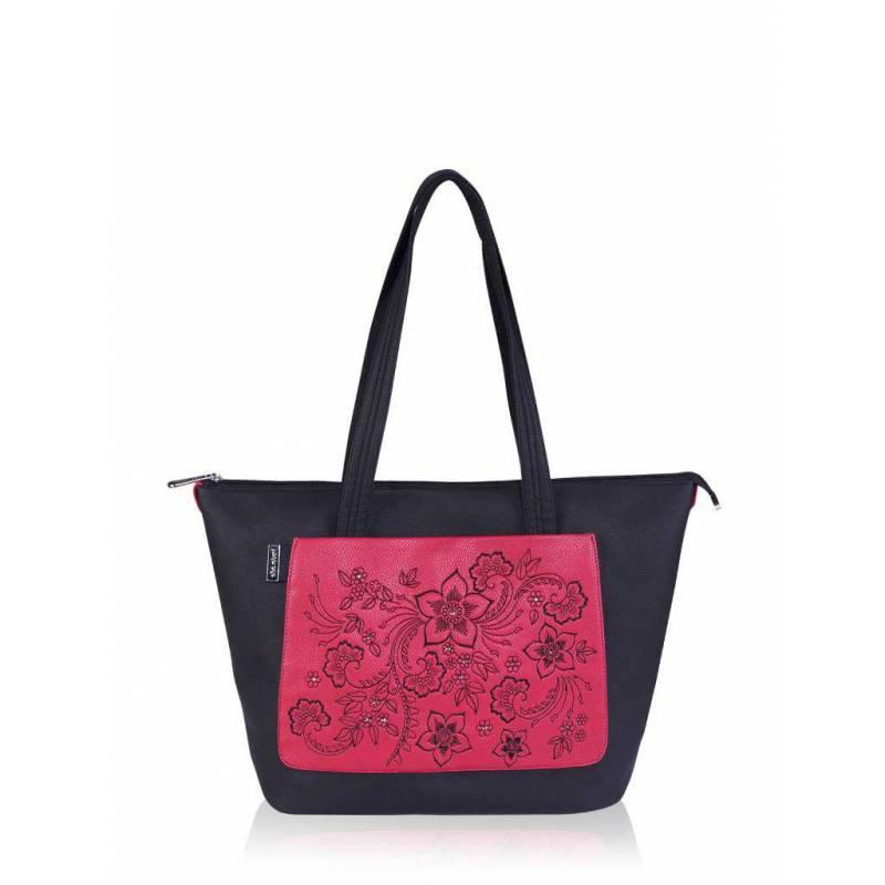 Женская сумка Alba Soboni 161400 black-pink