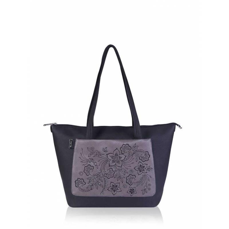 Женская сумка Alba Soboni 161402 black-grey