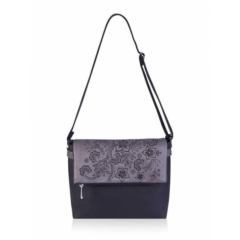 Женская сумка Alba Soboni 161412 black-grey