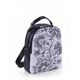Молодежный рюкзак Alba Soboni 161421 white-black