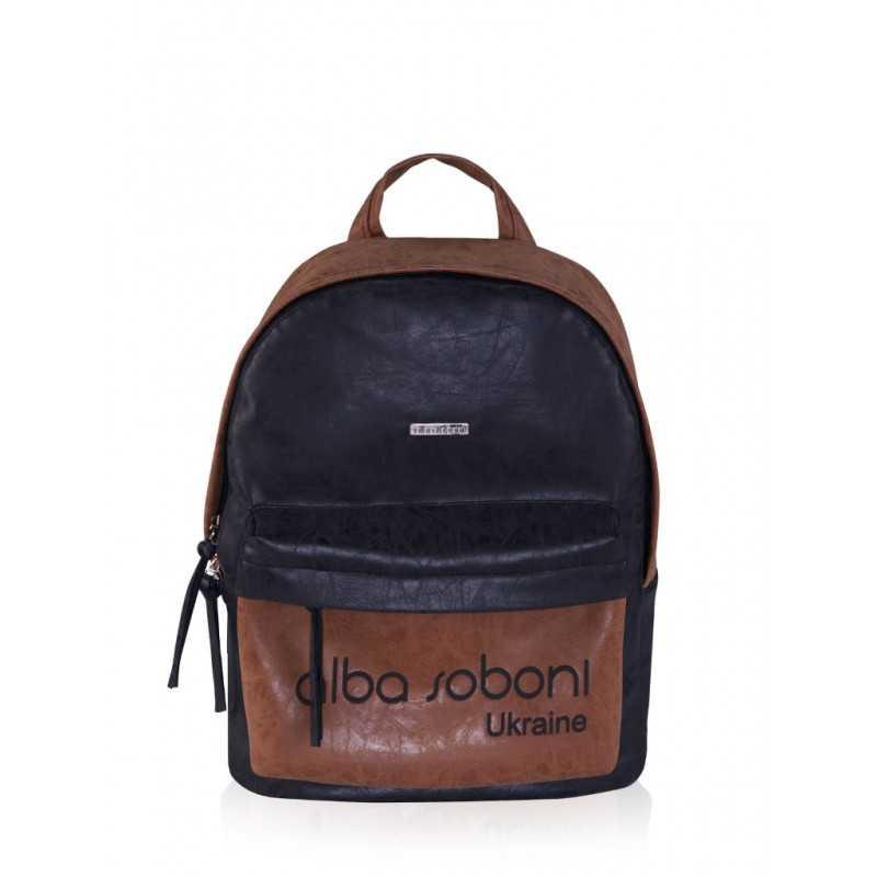 Рюкзак Alba Soboni 161718 black-brown