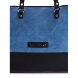 Женская сумка Alba Soboni 162026 black-blue