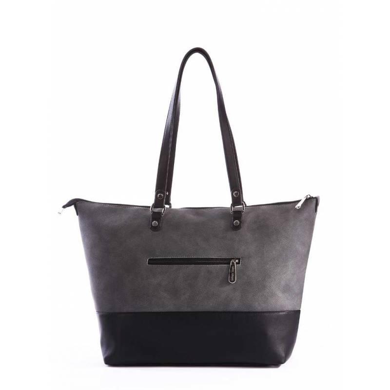 Женская сумка Alba Soboni 162027 black-grey