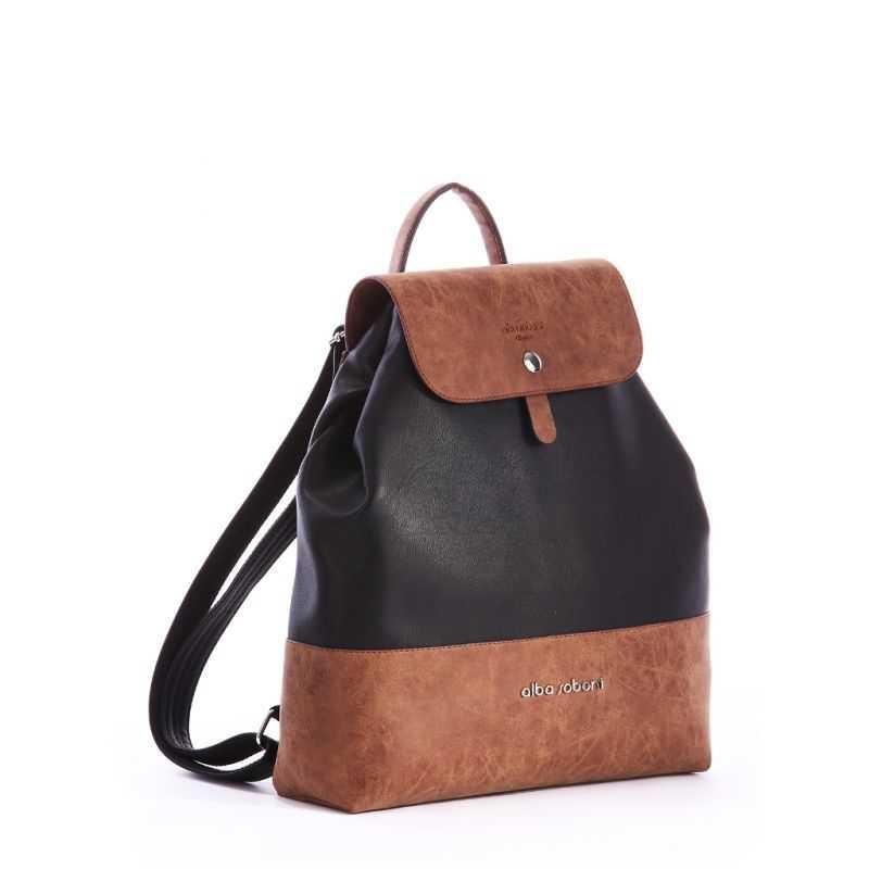 Рюкзак Alba Soboni 162035 black-brown