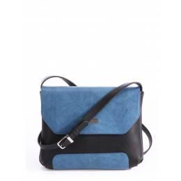 Клатч Alba Soboni 162046 black-blue