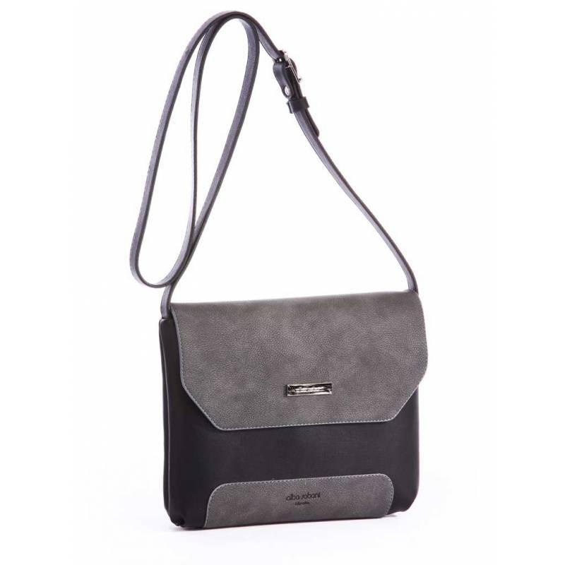 Клатч Alba Soboni 162047 black-grey