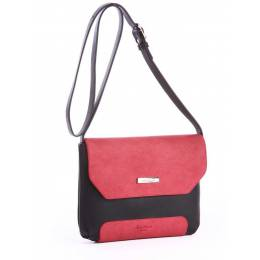 Клатч Alba Soboni 162048 black-red