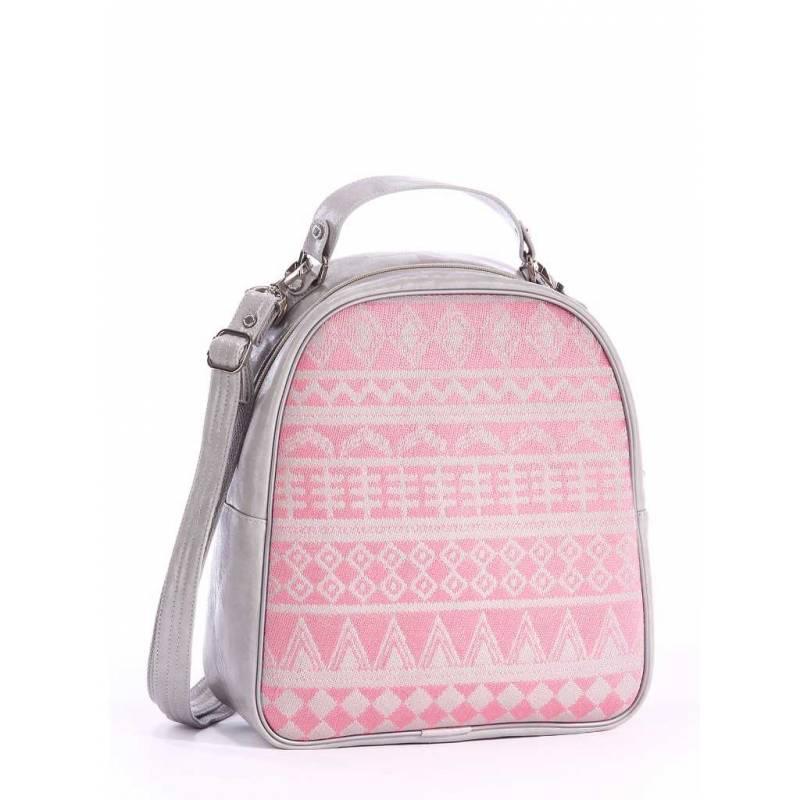 Рюкзак Alba Soboni 162442 grey-pink