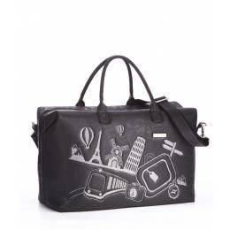 Дорожная сумка Alba Soboni 162805 black