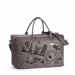 Дорожная сумка Alba Soboni 162806 grey