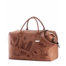 Дорожная сумка Alba Soboni 162807 brown