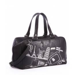 Дорожная сумка Alba Soboni 162815 black