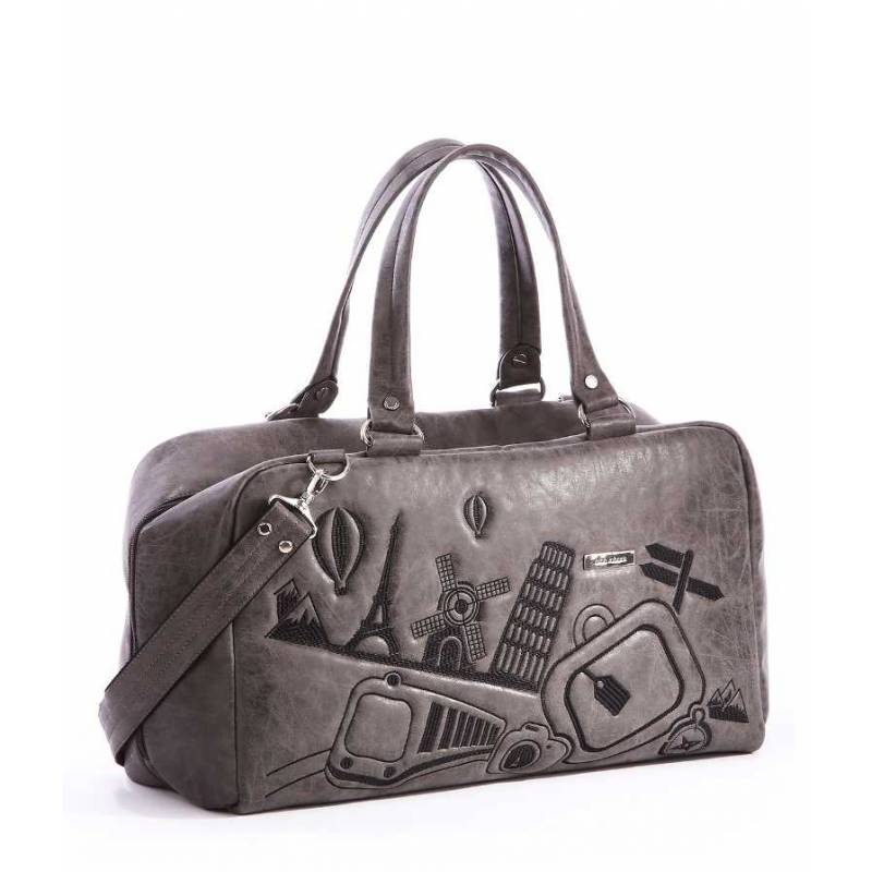 Дорожная сумка Alba Soboni 162816 grey