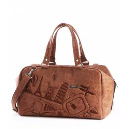 Дорожная сумка Alba Soboni 162817 brown