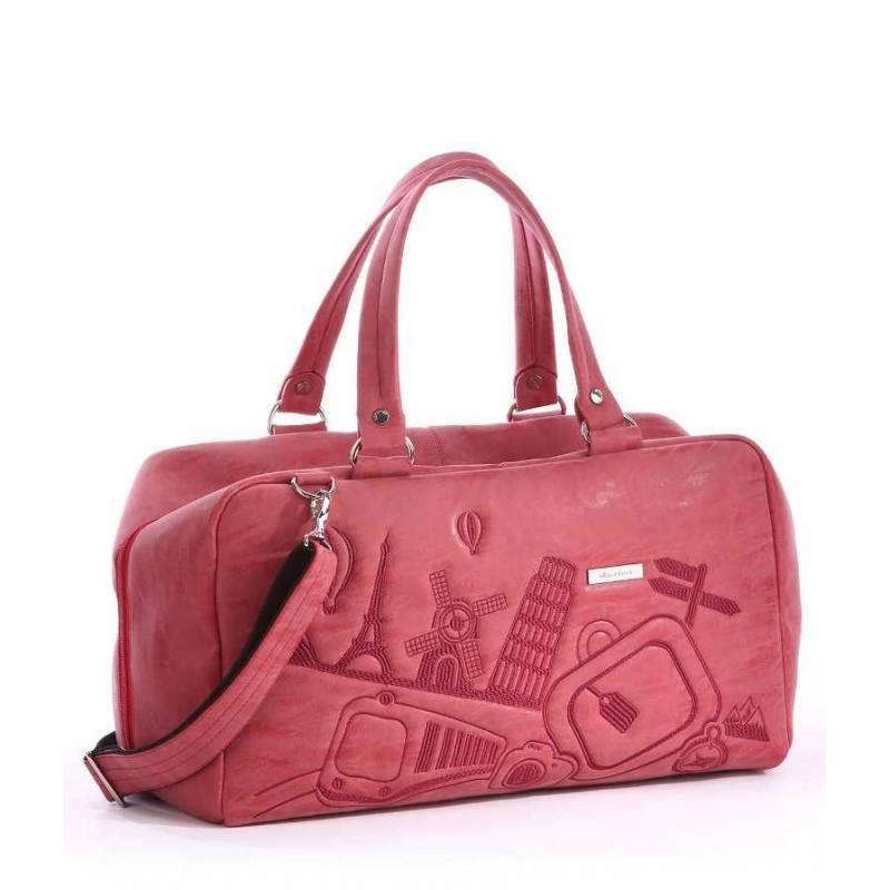 Дорожная сумка Alba Soboni 162819 red