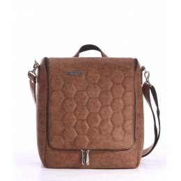 Дорожная сумка-мессенджер Alba Soboni 162822 brown