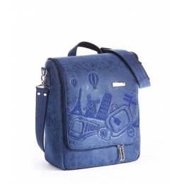 Дорожная сумка-мессенджер Alba Soboni 162828 blue