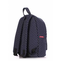 Рюкзак молодежный POOLPARTY Anchor Darkblue