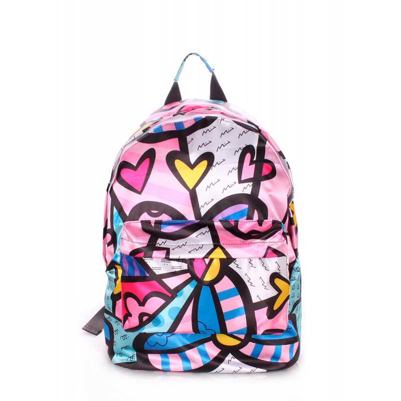 Рюкзак женский POOLPARTY Blossom Pink