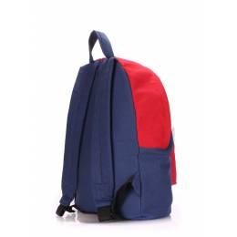Молодежный рюкзак Poolparty Darkblue Red White