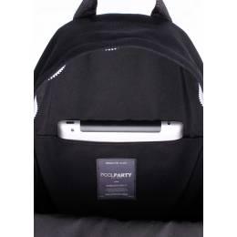 Молодежный рюкзак Poolparty Kangaroo Black