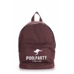Молодежный рюкзак Poolparty Kangaroo Brown