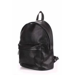 Кожаный рюкзак POOLPARTY Leather Black