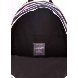Молодежный рюкзак Poolparty Navy Blue