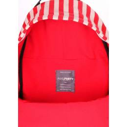 Молодежный рюкзак Poolparty Navy Red