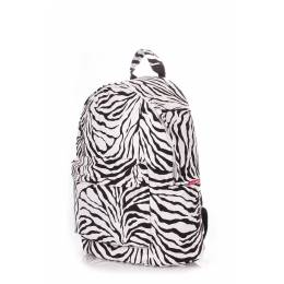 Рюкзак женский POOLPARTY PU Zebra