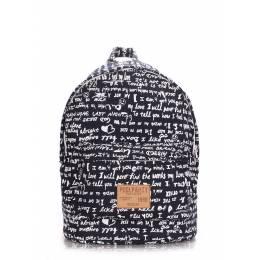 Молодежный рюкзак Poolparty Signature Darkblue