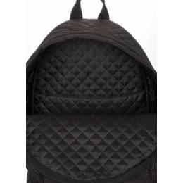 Стеганый рюкзак Poolparty на синтепоне Theone Black